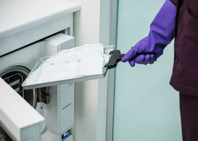 Sterilizzazione presso studio odontoiatrico Dr. Antonio Barbato
